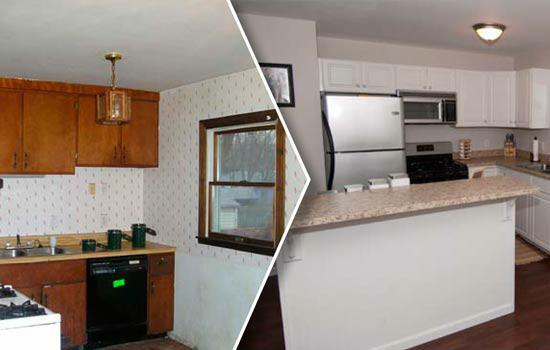 Before and After Flip House